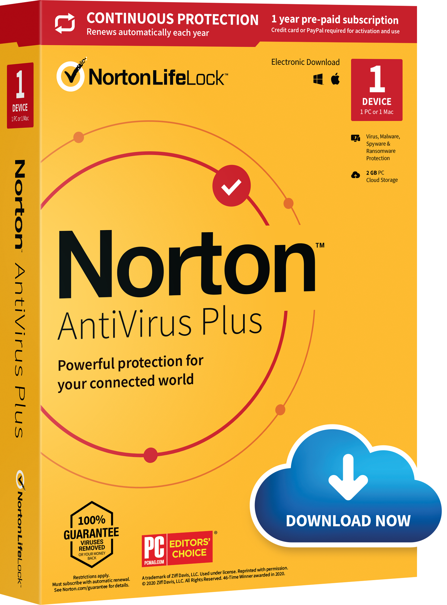 Norton AntiVirus Plus US Komdigit.com